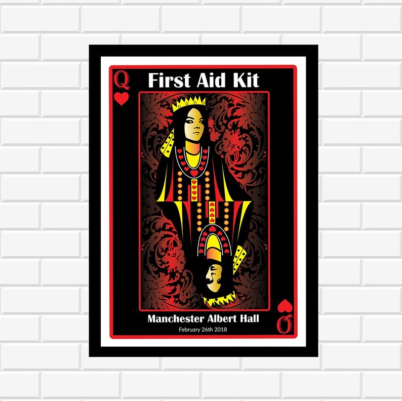 First Aid Kit Poster - Music Poster - Concert Poster