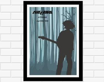 The Cure Poster - Music Poster - Band Poster - Concert Poster - Music Gift - Music Print - Band Print - Wall Art - Home Decor