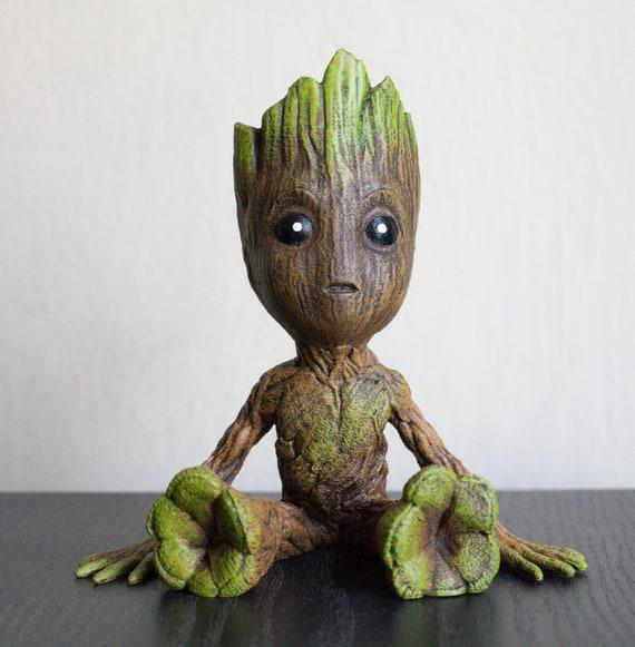 Embroided Design Cap I am Groot Cute Groot Beanie Gaurdians Of The Galaxy