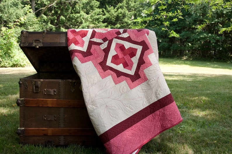 Price Reduced Quilt Handmade One-of-a-Kind Wall Hanging Bed Cover Home Decor Art Gift Housewarming Wedding Anniversary
