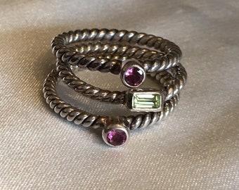 Janice Girardi sterling silver rings