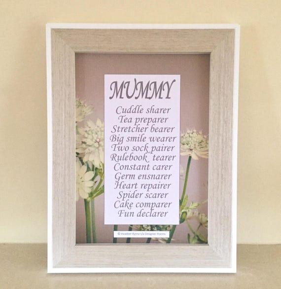 Cadeau Voor Mama Moederdag Dag Cadeau Mummy Afdrukken De Etsy