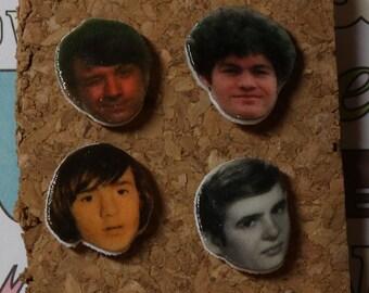 Monkees Pushpins