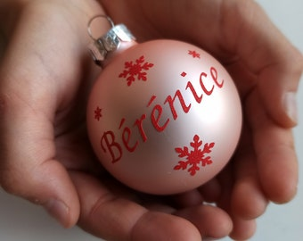 Personalized Christmas Ball, Christmas Gifts, Christmas Decorations, My First Christmas