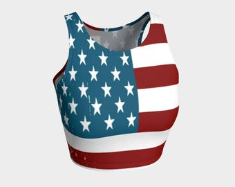 8ad5c8c283 American proud crop top