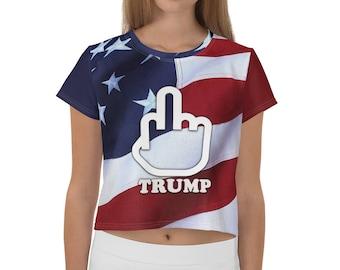 T shirt Fuck Trump Citadium
