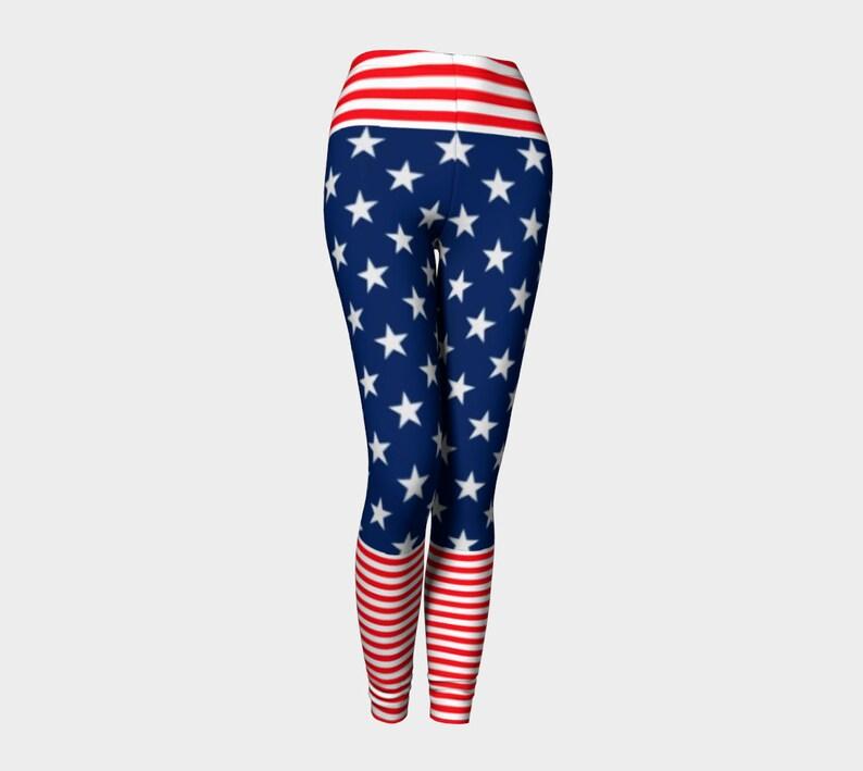 28c2b15946 American proud leggings, American flag leggings, American Flag, USA  leggings, wonder women leggings