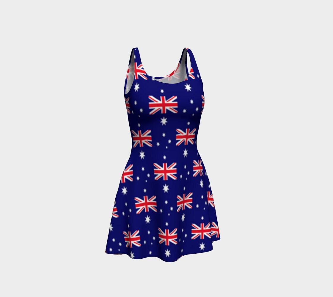 Vestido de bandera australiana Australia Bandera de Australia