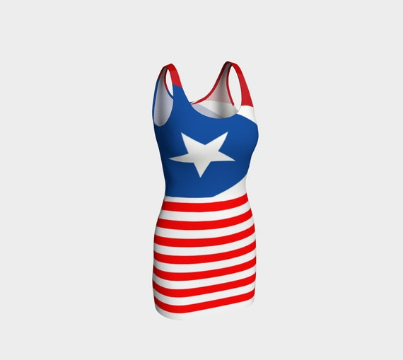 ce8ab450f0a Puerto Rico dress Puerto Rico flag Puerto Rico Clothes