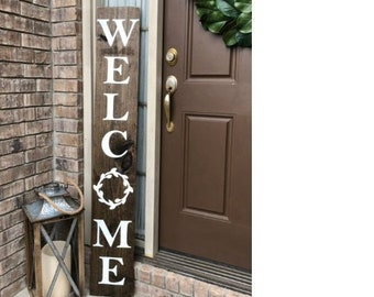 Charmant Welcome Sign For Front Door | Etsy