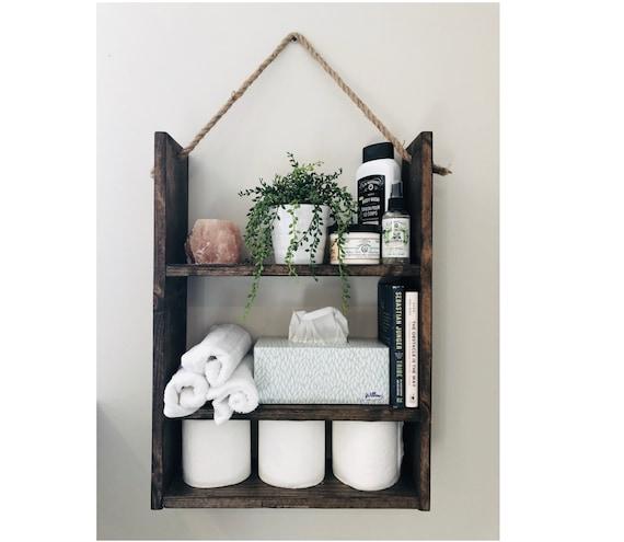 Bathroom Shelf Bathroom Storage Bathroom Organizer Bathroom Etsy