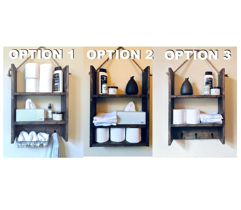 Bathroom Storage Bathroom shelf Bathroom organizer Bathroom image 1