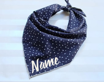 Personalized Dog Bandana - Dipper // Dog Bandana // Fall Dog Bandana // Print Dog Bandana // Pet Bandana