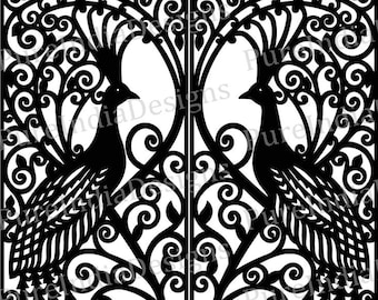 Peacock Plans For Laser Cnc Plotter Cut File Vector Plot Laser Cut Vector Laser Cut Template Vector Cutting Plan Dxf Active