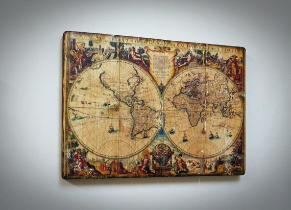 World map on wood rustic wall decor map on wood globeearth map world map on wood rustic wall decor map on wood globeearth map wooden world map wooden wall decor handmade from printedwoodphoto on etsy studio gumiabroncs Image collections
