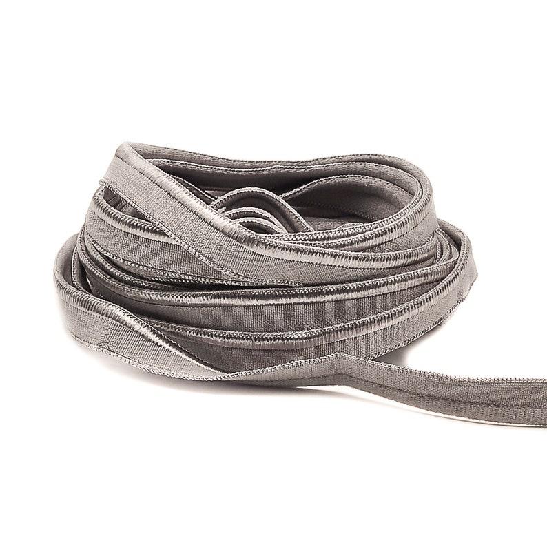 3 m Piping ELASTIC  Grey SEIDE  10 mm 1.33 eur / meter image 0