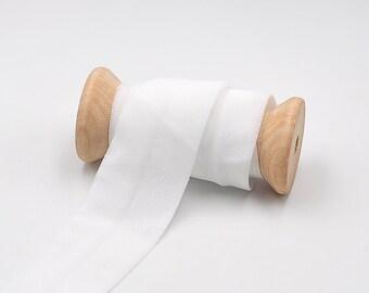 3 m folding rubber MATT - OFF-WHITE - 30 mm (1.40 eur / meter)