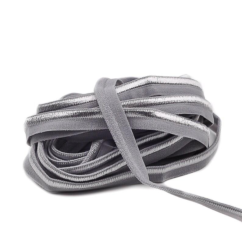 3 m Piping ELASTIC  Grey ACHAT  10 mm 1.33 eur / meter image 0