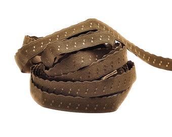 3 m folding rubber SPITZE - Brown REH - folded (1.30 eur / meter)