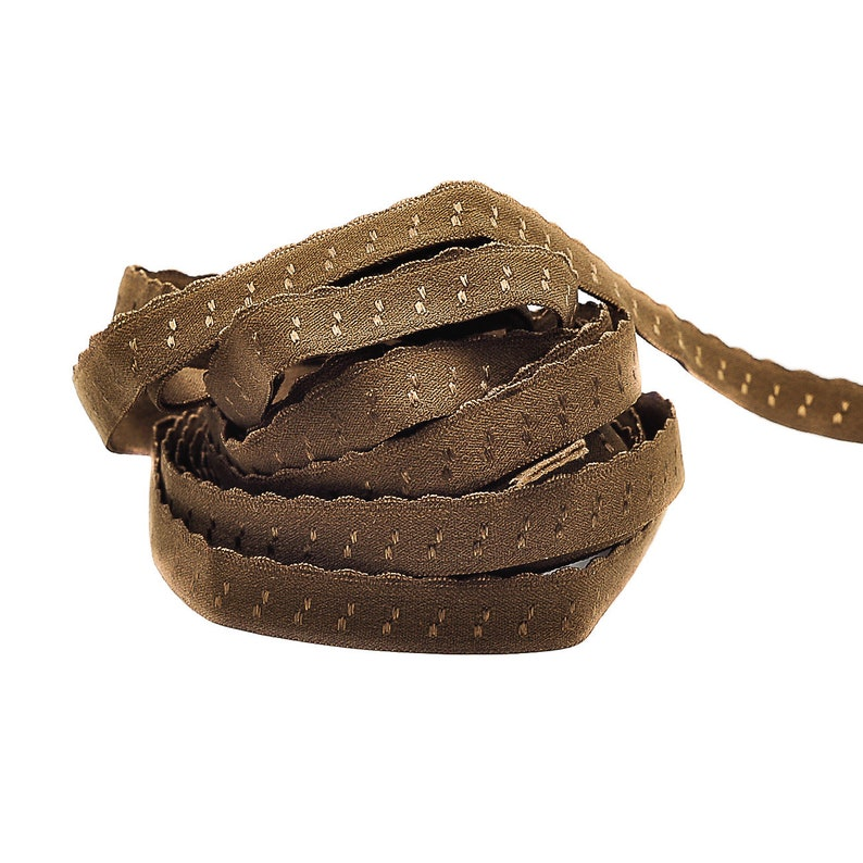 3 m folding rubber SPITZE  Brown REH  folded 1.30 eur / image 0