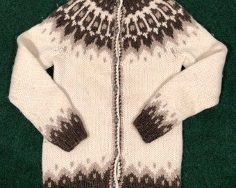 Vintage womens wool ll bean hilda button up cardigan large 616751aed