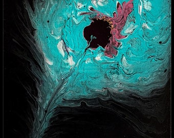 Feather #1 - Original Canvas Painting