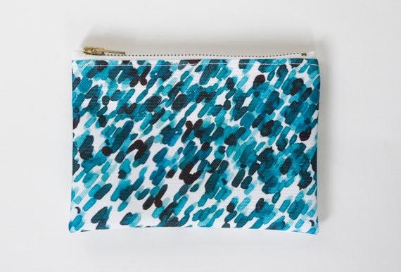 XS - travel - waterproof pouch printed exclusive Elma - Lil flower b.