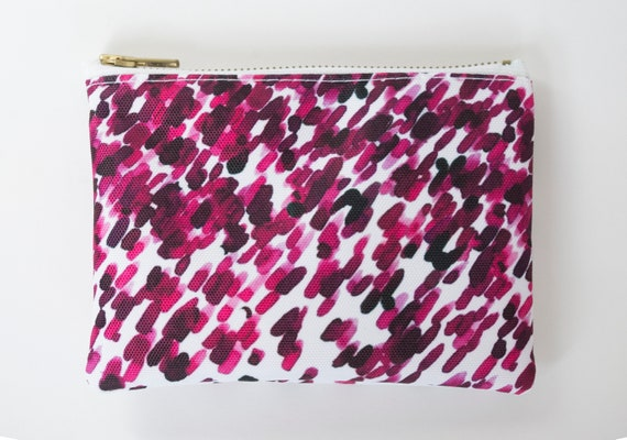 """Pouch - travel """"Lil flower R"""" - XS - waterproof printed exclusive Elma"""