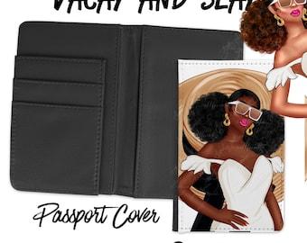 Vacay and Slay Passport Cover and Baggage Tag - Jackie O