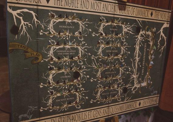 UFFICIALE Harry Potter Sciarpa con design ALBERO GENEALOGICO