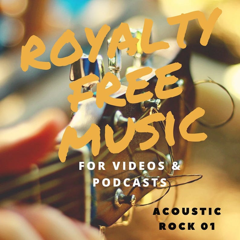 Royalty Free Music  Acoustic Rock Pack 1 image 0