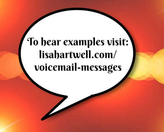 Professional voicemail messages generic voicemail greeting etsy professional voicemail messages generic voicemail greeting pack m4hsunfo