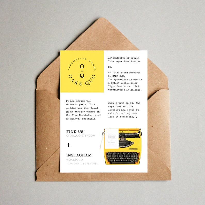 Blooming Roses Typewriter Quote 6x4