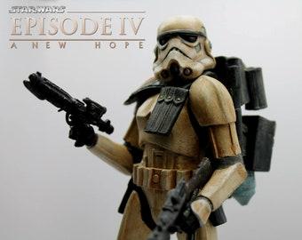 StarWars sandtrooper Diorama