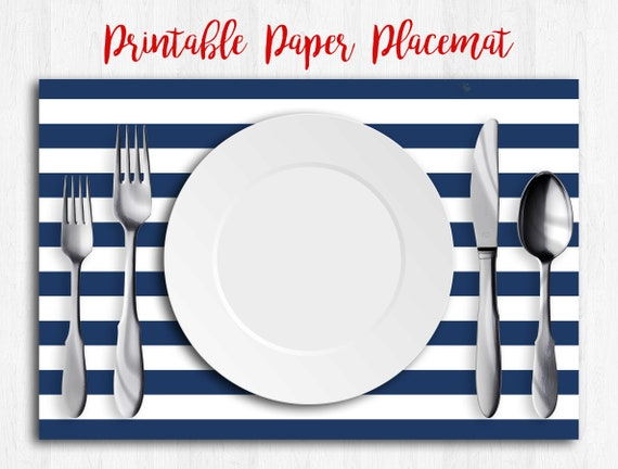graphic about Printable Placemats named Military services Blue Placemats, Printable Placemats, Nautical Child Shower, Paper Placemats, Boy or girl Boy Shower Decorations, Linen Placemats, Placemats Fastened