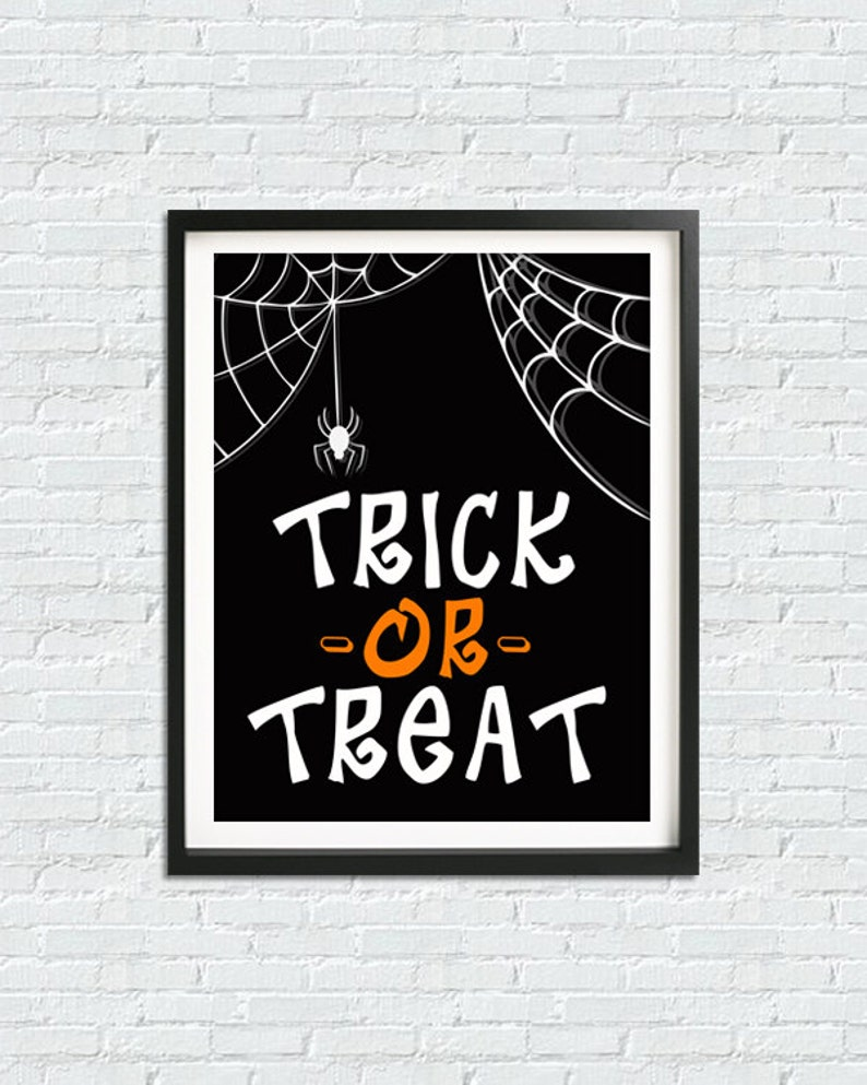 picture about Trick or Treat Signs Printable named Halloween Print, Trick Or Address Indicator, Halloween Printable Decor, Halloween Indicators, Electronic Down load Prints, Halloween Decor, Quick Down load