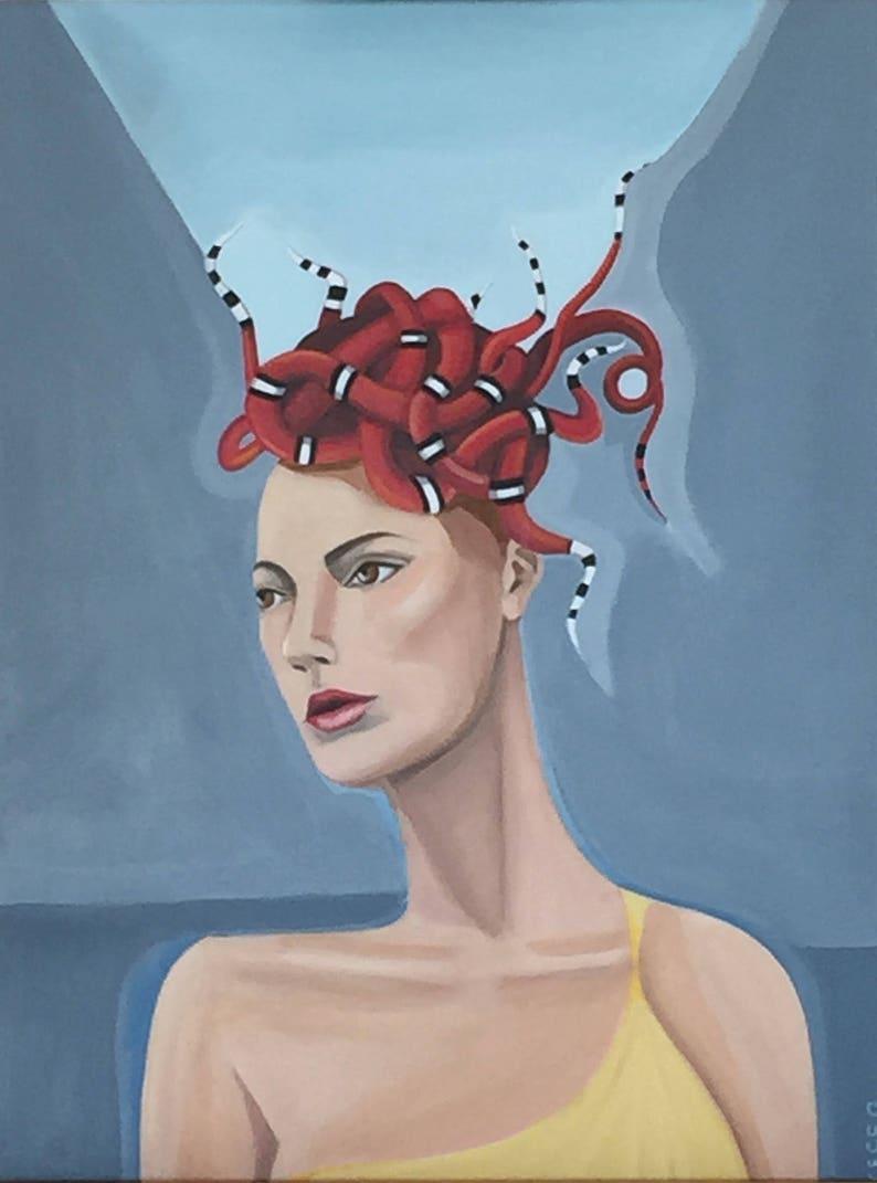 eaefc689f1a623 Portret van Medusa portret van een vrouw de Griekse