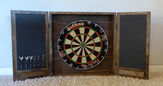 Dartboard Cabinet/ Modern Dartboard Cabinet/ Wall Mounted | Etsy