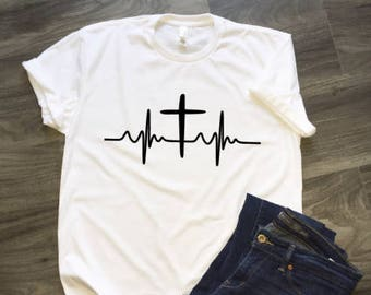 Cross Heartline T-Shirt