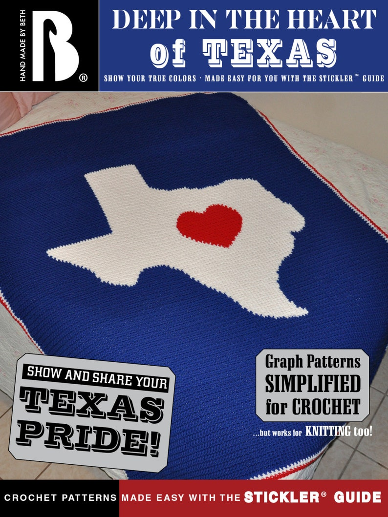 Deep in the Heart of Texas Afghan and/or Wall Hanging Pattern image 0