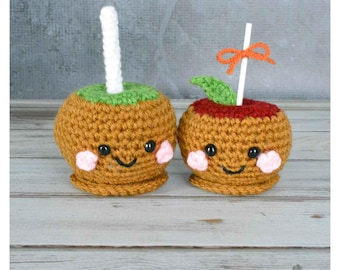 Amigurumi Caramel Apple