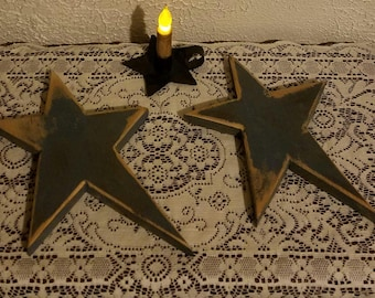 Primitive wooden Star