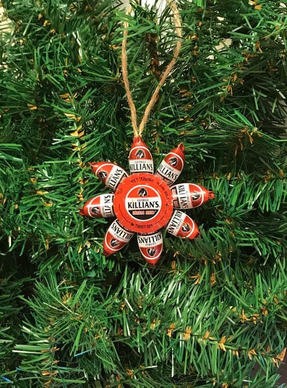 image 0 - Jillians Irish Red Beer Cap Christmas Ornaments Etsy