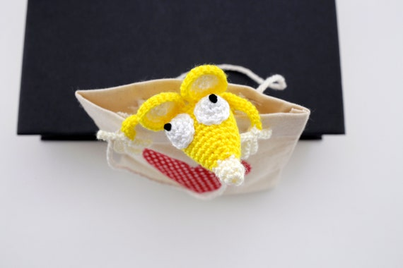 024 Crochet Pattern Cat and Mouse Decor or Bookmarks   Etsy   380x570