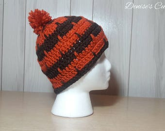 Spike Stitch Beanie Crochet Pattern