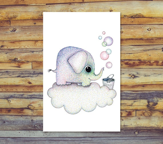 Elephant Card Printable Greeting Cards Blank All
