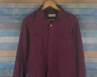 75fd07358c9b 45RPM checkered flannel shirt US M   EU 48-50   2