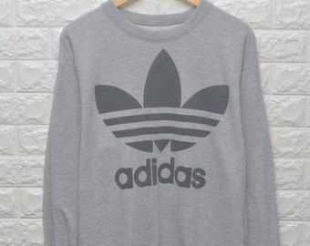 3bba82d74 Vintage Adidas trefoil big logo 90s sweatshirt US L / EU 52-54 / 3