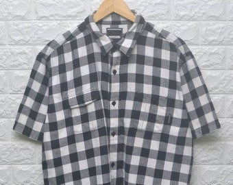 35a5729e NEIGHBORHOOD salvation checkered flannel shirt US L / EU 52-54 / 3