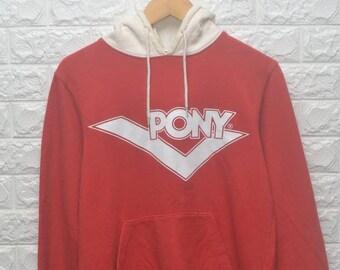 b1200bdc23c7 Vintage Pony Logo skate thrasher hoodie US M   EU 48-50   2 90s streetwear